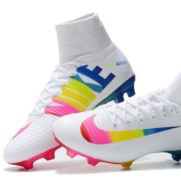Nike Mercurial Superfly White Rainbow